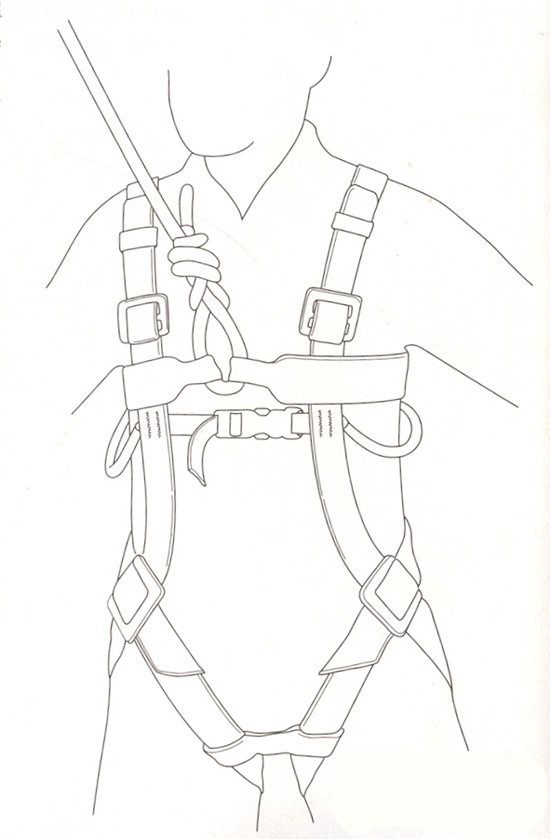 儿童攀岩简笔画