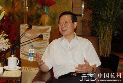 谢双成会见德勤永华会计师事务所总经理萧耀熙一行