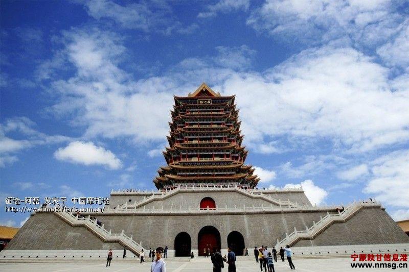 宁夏青铜峡风景区-黄河楼